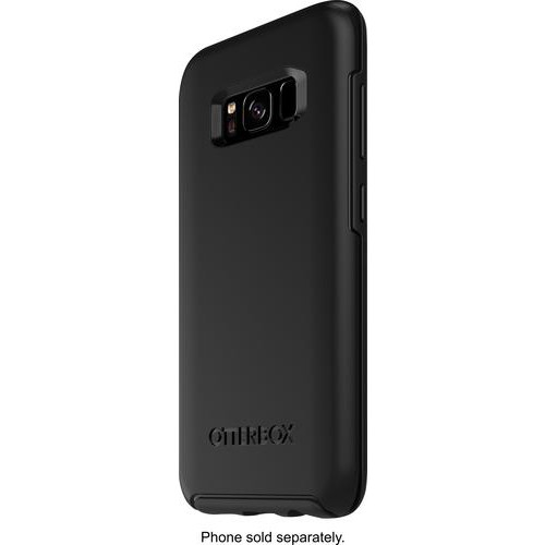 OtterBox - Symmetry Series Case for Samsung Galaxy S8 - Black