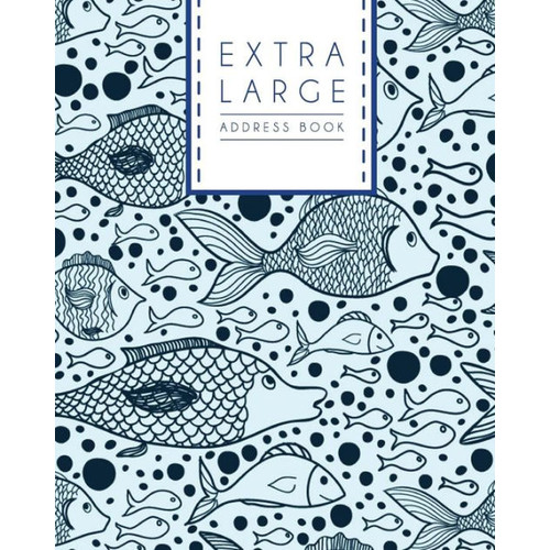 Extra Large Address Book: Big Size of Address Book (Seniors Easy to Use)