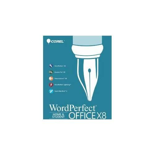 WordPerfect Office X8  Home & Student Edition - Windows [Digital]