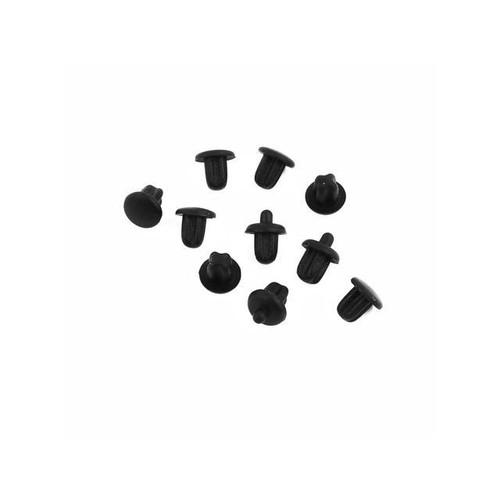 10Pcs Black Dust Plastic Cover For Digital Product Audio-B