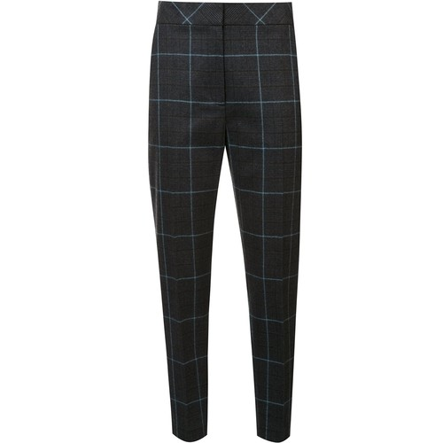 ALEXANDER WANG Checked Cropped Trousers