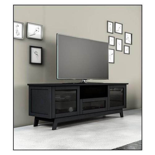 Salamander Designs - A/V Cabinet for Most Flat-Panel TVs Up to 80