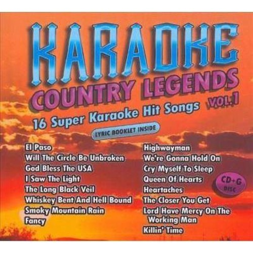 Karaoke Cloud - Country Legends Vol 1 (CD)