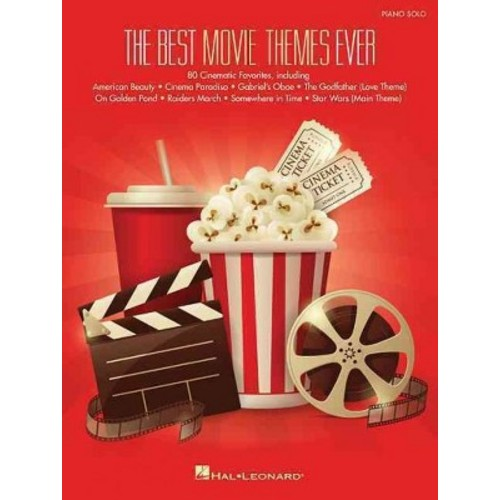 Best Movie Themes Ever : Piano Solo (Paperback)
