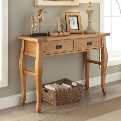 Santa Fe Console Table in Antique Pine