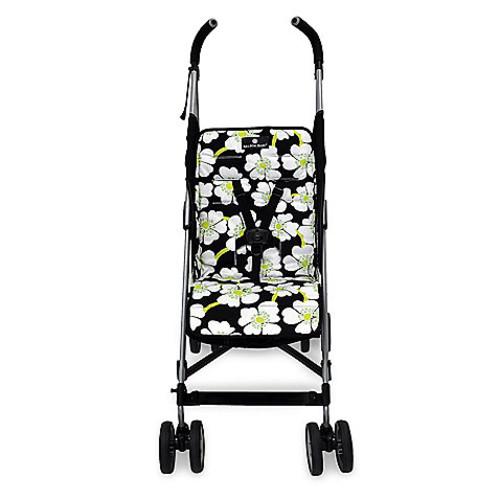Balboa Baby Stroller Liner in Lime Poppy