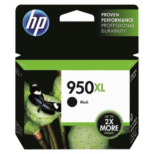 HP 950XL Black Ink Cartridge, High Yield (CN045AN) for HP Officejet Pro 251, 276, 8100, 8600, 8610, 8620, 8625, 8630