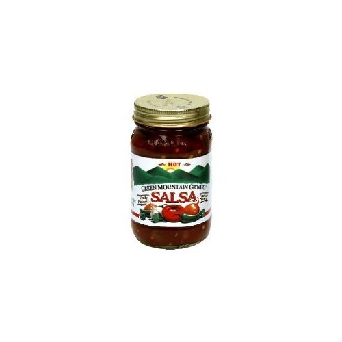 Green Mountain Gringo Hot Salsa 16oz Jar