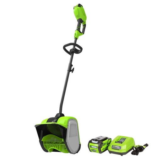 Greenworks Digi-Pro GMAX 12 in. 40-Volt Cordless Electric Snow Blower Shovel - Battery and Charger Included
