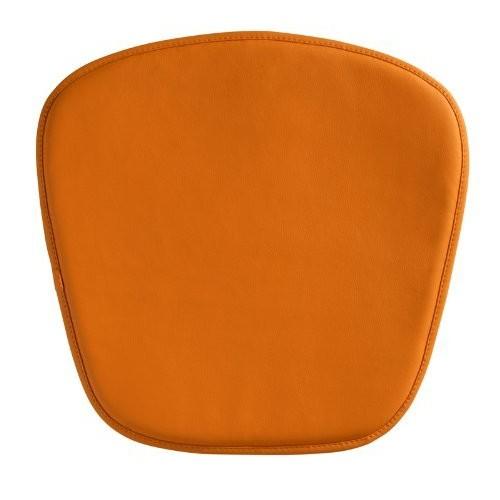 Zuo Wire/Mesh Cushion, Orange