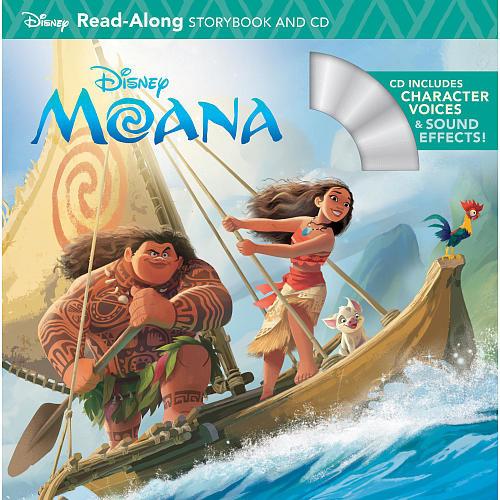Disney Moana: Read Along Storybook and CD