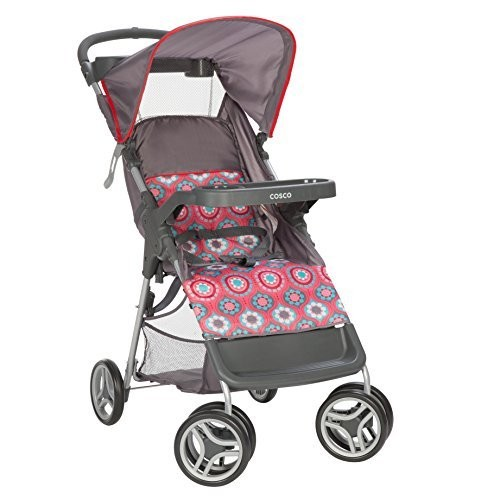 Cosco Lift and Stroll Convenience Stroller, Posey Pop [Posey Pop]