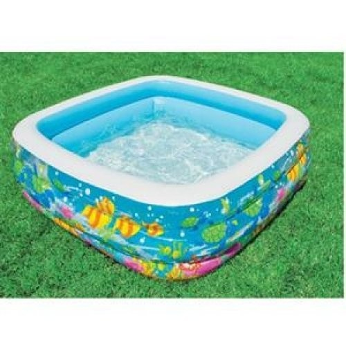 Intex Swim Center Clearview Aquarium Inflatable Pool, 62.5