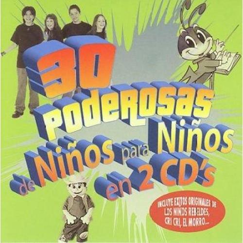 30 Poderosas de Nios Para Nios [CD]
