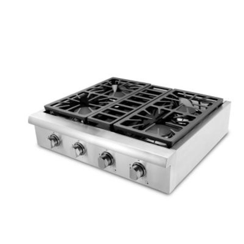 Thor Kitchen 30 in. Gas Cooktop in Stainless Steel with 4 Burners