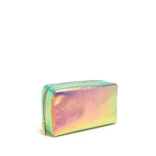 Iridescent Makeup Bag