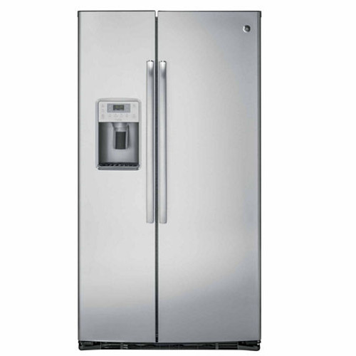 GE PZS22MSKSS Profile Series 21.9 Cu. Ft. Counter-Depth Side-By-Side Refrigerator