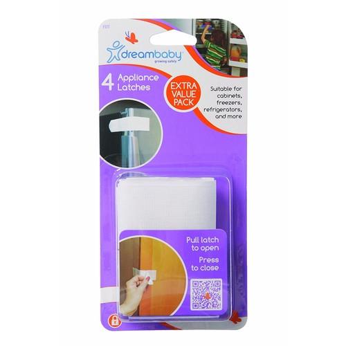 Dreambaby Appliance Latch, 4 Pack