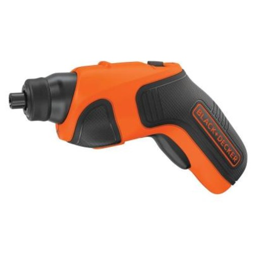 BLACK+DECKER 4-Volt MAX Lithium-Ion Cordless Rechargeable Screwdriver with Charger