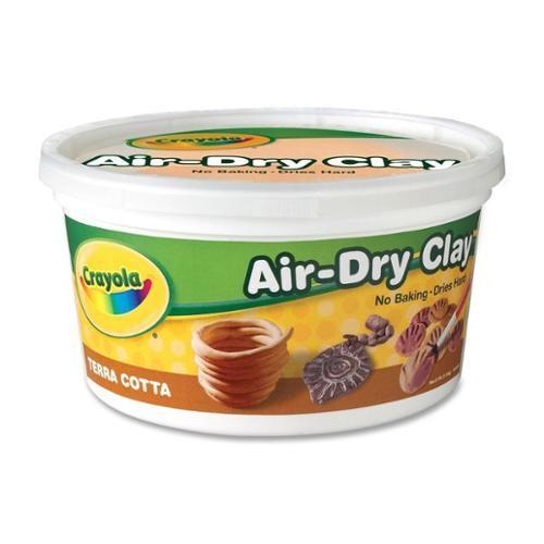 Crayola Terra Cotta Air Dry Clay 2.5 Pound Bucket [1]
