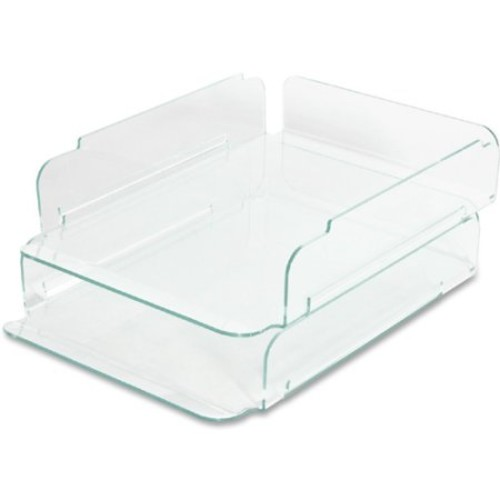 Lorell Stacking Letter Trays