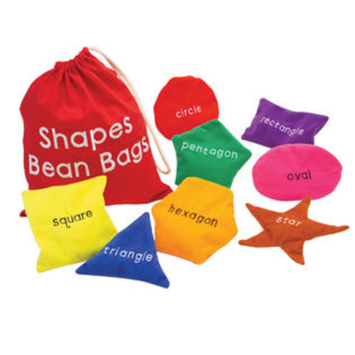 Learning Resources Shapes Bean Bags