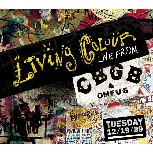 Live from CBGB's Tuesday 12/19/89 [CD]