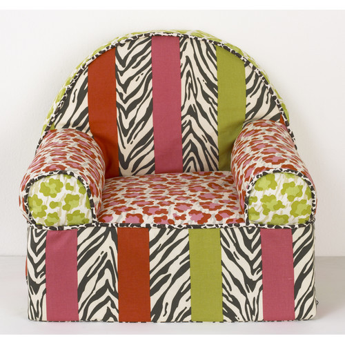 Here Kitty Kitty Kids Cotton Foam Chair