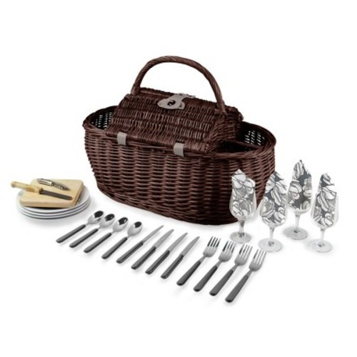 Picnic Time 8pc Gondola Picnic Basket