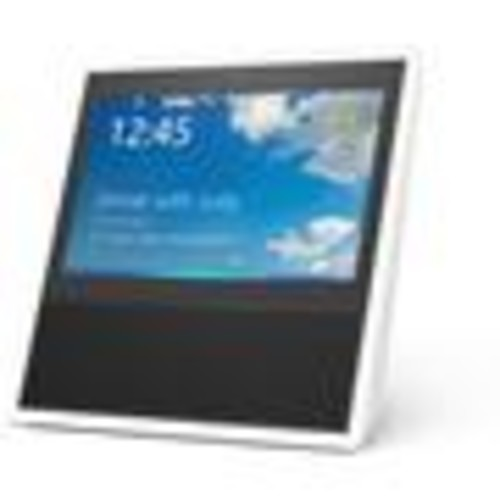 Amazon Echo Show (White) Voice-activated virtual assistant with video