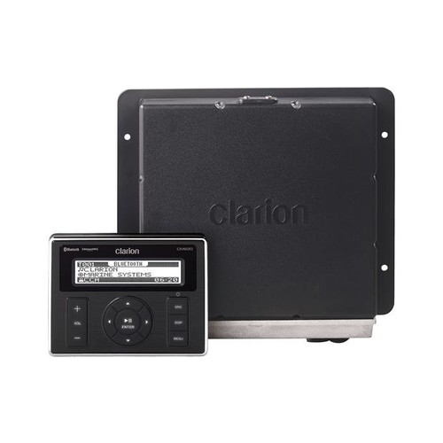 Clarion CMS20 Hideaway marine digital media receiver with Bluetooth (does not play CDs)