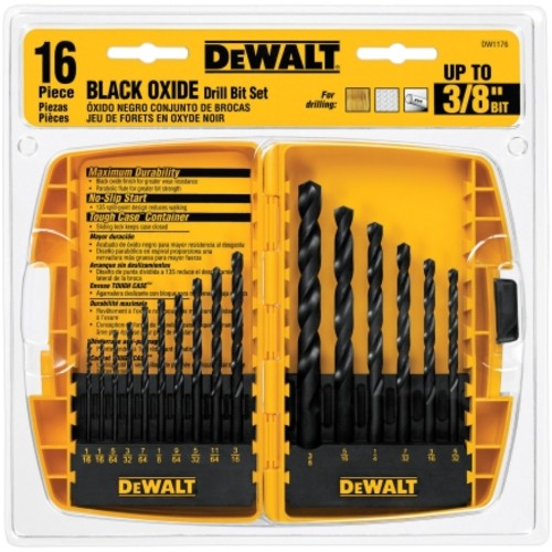 Dewalt 16 Piece Drill Bit Set in Tough Case (DW1176)