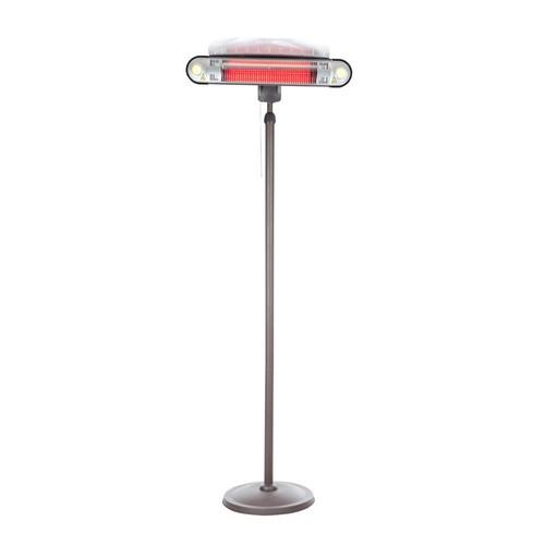 Fire Sense 1,500-Watt Alta Floor Standing Halogen Electric Patio Heater