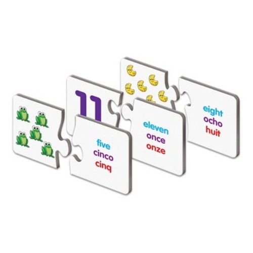 The Learning Journey Match It! Trilingual Numbers Jigsaw Puzzle - 30-piece
