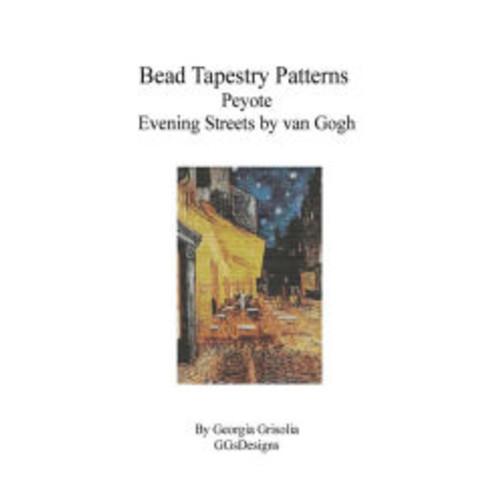 Bead Tapestry Patterns Peyote Evening Streets by van Gogh