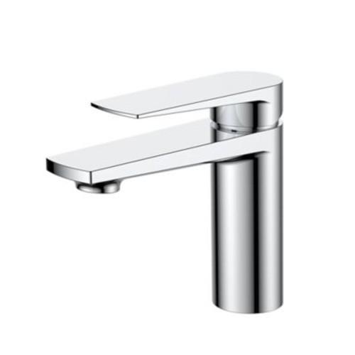Kube Bath Aqua Letti Single Lever Wide Spread Bathroom Faucet