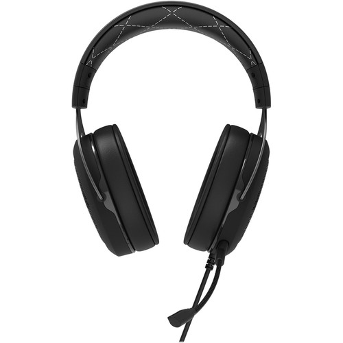 CORSAIR - Gaming HS60 Wired Stereo Gaming Headset for PC, Xbox One, PlayStation 4, Nintendo Switch and Mobile Devices - White