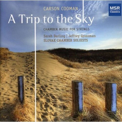 Carson Cooman: A Trip to the Sky [CD]