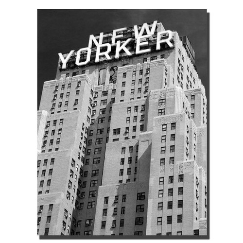Trademark Global Yale Gurney 'New Yorker' Canvas Art [Overall Dimensions : 24x32]