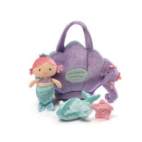 Plush Mermaid Adventure Playset