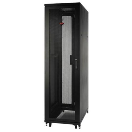 APC AR2407 NetShelter SV Black 48U Enclosure Rack Cabinet with Sides for Server
