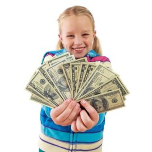 Educational Insights Play Money, Coins & Bills Deluxe Set
