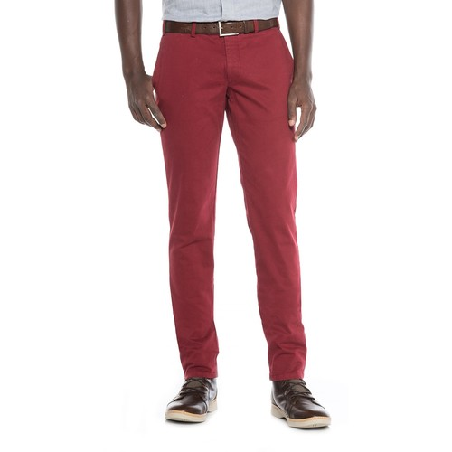 FHP by Hiltl Teach Flat-Front Chino Pants - Slim Fit (For Men) [WAIST: 32,inseam: 38]