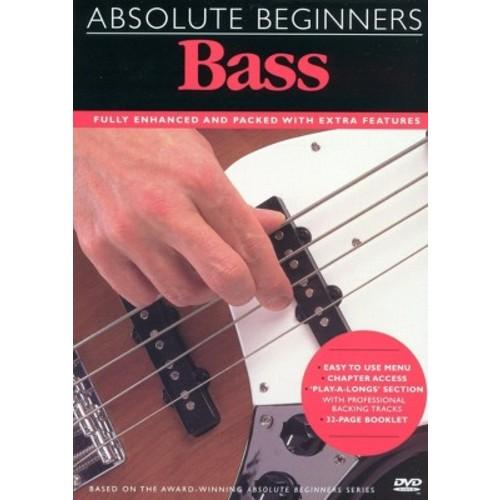 Absolute beginners bass guitar (DVD)