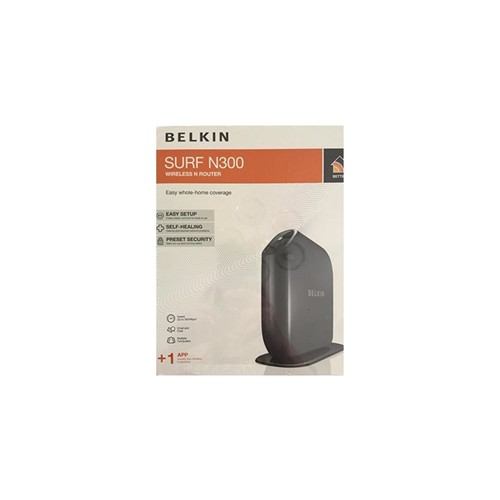 Belkin Share N300 300Mbps Wireless-N MIMO 4-Port Router - F7D2301