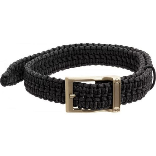 Timberline Black Paracord Survival Belt-Extra Large
