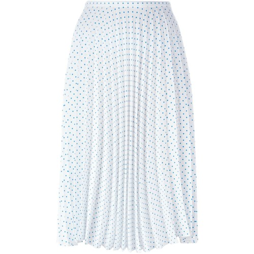 J.W. ANDERSON Polka Dot Pleated Skirt