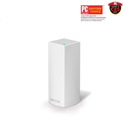 Linksys - Velop AC2200 Tri-Band Whole Home Wi-Fi System - White
