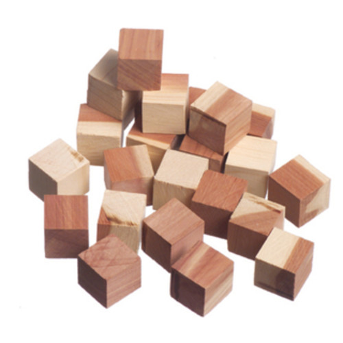 International Innovations Laundry Accessories Red Cedar Wood Cubes (24 Pack) - N/A