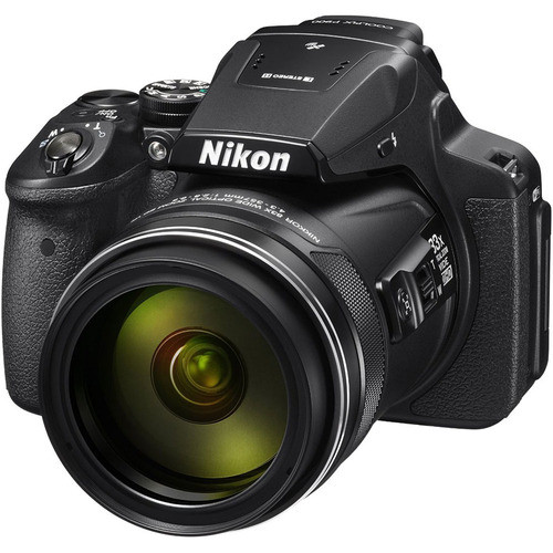 Nikon COOLPIX P900 16MP 83x Super Zoom Digital Camera Full HD Video, WiFi, GPS - Black